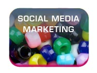 sm social media  marketing and communication button image