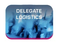 conference and exhibition delegate logistics button image