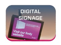 digital signage for retail and confex display button image
