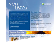 venue finding newsletter