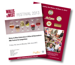 6 page brochure for the Wales and West Federation