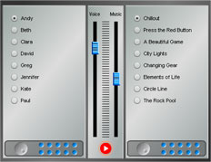 image of flash audio mixer